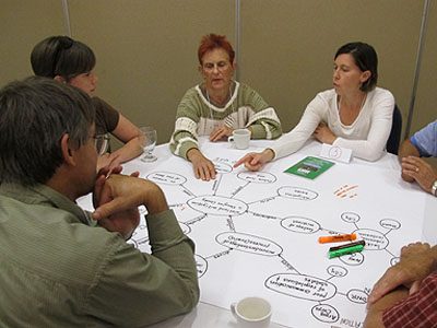Facilitating wetland planning discussion