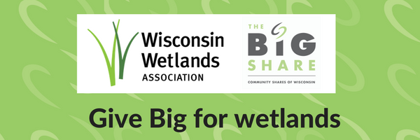 Give big for wetlands during the 2017 Big Share